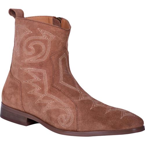 """Dingo Boots Mens DI 211 6 BROOKS"""" Tan"""