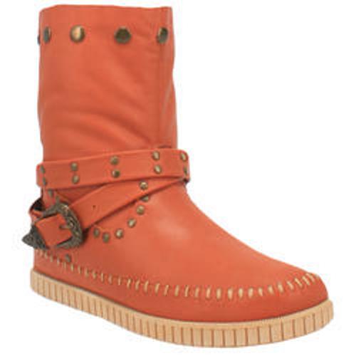 "Dingo Boots Ladies DI 158 8"" #MALIBU rust"