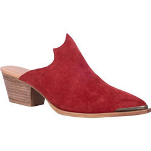 """Dingo Boots Ladies DI 105 CLOG KNOCKOUT"""" red"""