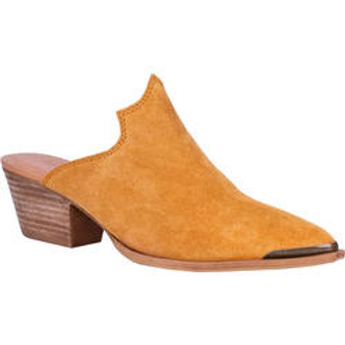 "Dingo Boots Ladies DI 105 CLOG KNOCKOUT"" mustard"