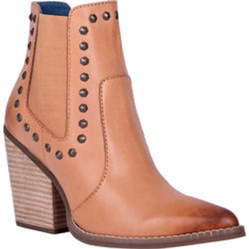 "Dingo Boots Ladies DI 118 5"" STAY SASSY Tan"