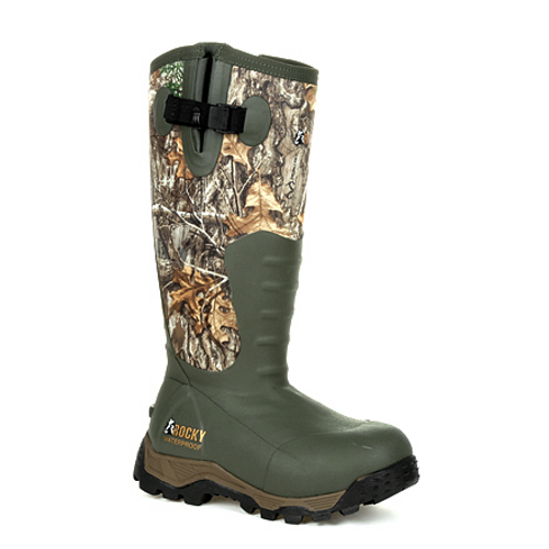 Rocky Sport Pro Women's 1200G Insulated Rubber Outdoor Boot RKS0479 REALTREE EDGE
