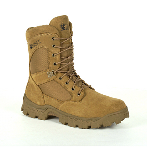 Rocky Mens Alpha Force 6 Inch Duty Boot RKD0061 COYOTE BROWN