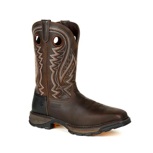 Durango® Maverick XPSteel Toe Puncture Resistant Western Work Boot DDB0269 NICOTINE CHOCOLATE