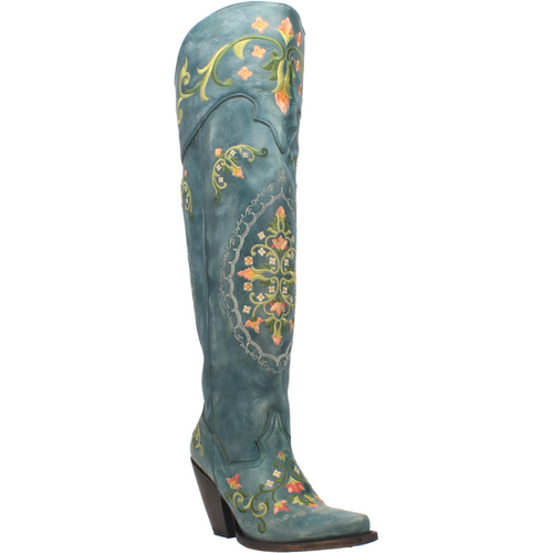 "Dan Post Boots Ladies DP3271 20"" FLOWER CHILD"
