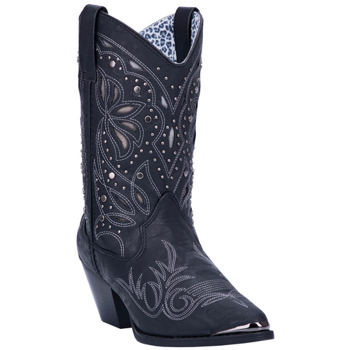 "Dingo Boots Ladies DI8820 10"" ANNABELLE BLACK"