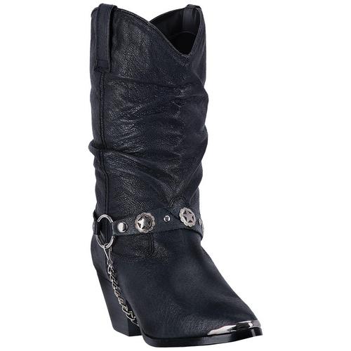 """Dingo Boots Ladies DI 522 10"""" OLIVIA BLACK"""