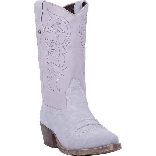 """Dingo  Boots Ladies DI8985 10"""" PRAIRIE ROSE GREY"""
