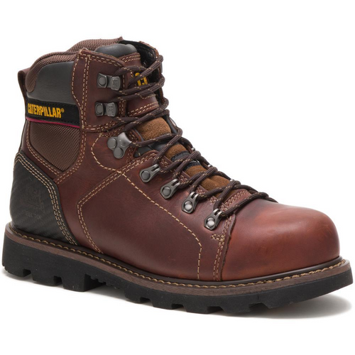 Caterpillar Men's Alaska 2.0 Steel Toe Work Boot P90865 Brown