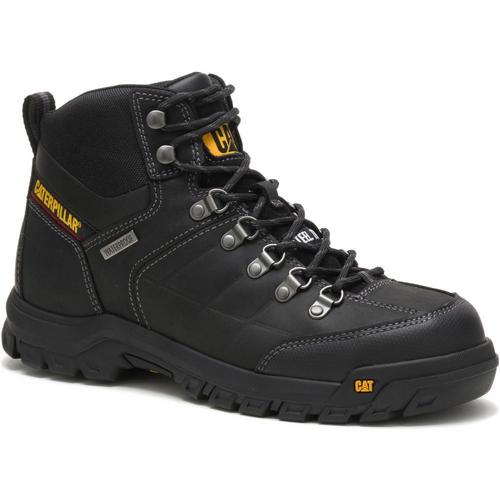Caterpillar Men's Threshold Waterproof Steel Toe Work Boot P90936 Black