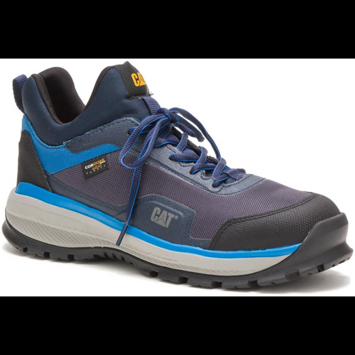 Caterpillar Men's Engage Alloy Toe Work Shoe P91074 Blue Night