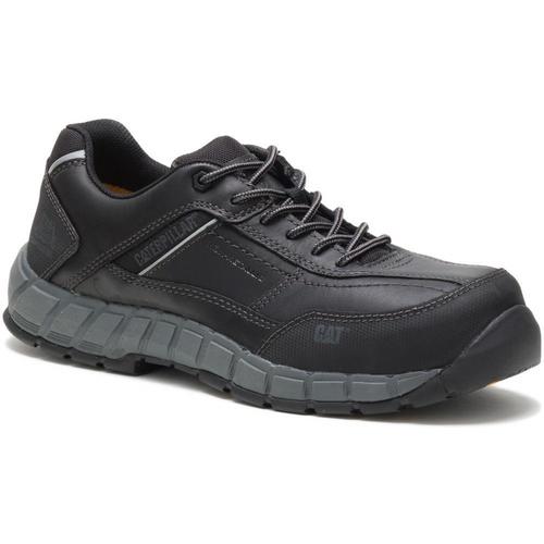 Caterpillar Men's Streamline Leather Composite Toe Work Shoe P90839 Black