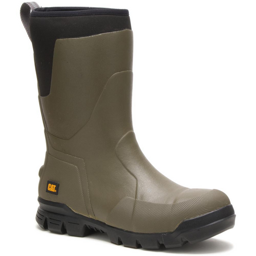 "Caterpillar Stormers 11"" Steel Toe Work Boot P91145 Olive Night"