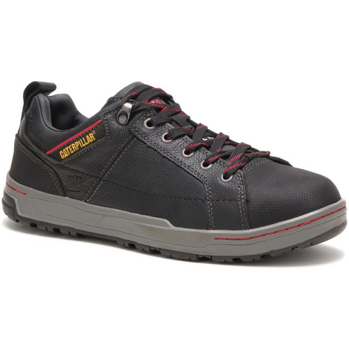 Caterpillar Men's Brode Steel Toe Work Shoe P90192 Black
