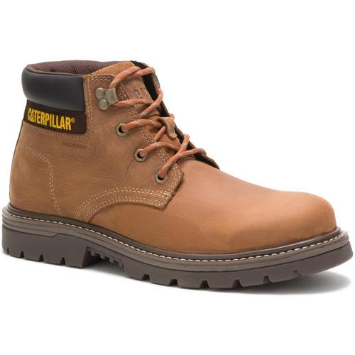 Caterpillar Men's Outbase Waterproof Work Boot P51032 Brown