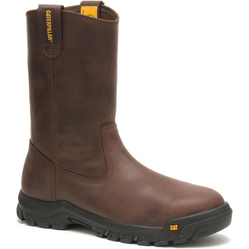 Caterpillar Men's Drawbar Steel Toe Work Boot P91155 Summer Brown