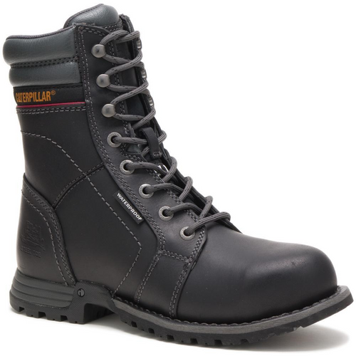 Caterpillar Women's Echo Waterproof Steel Toe Work Boot P90899 Black