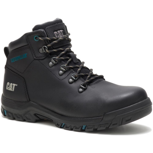 Caterpillar Women's Mae Steel Toe Waterproof Work Boot P91022 Black