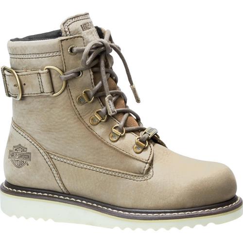 Harley Davidson Ladies Boots Marconi D84469 Sand