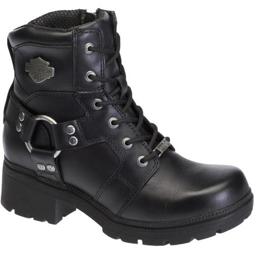 Harley Davidson Ladies Boots Jocelyn D83775 Black