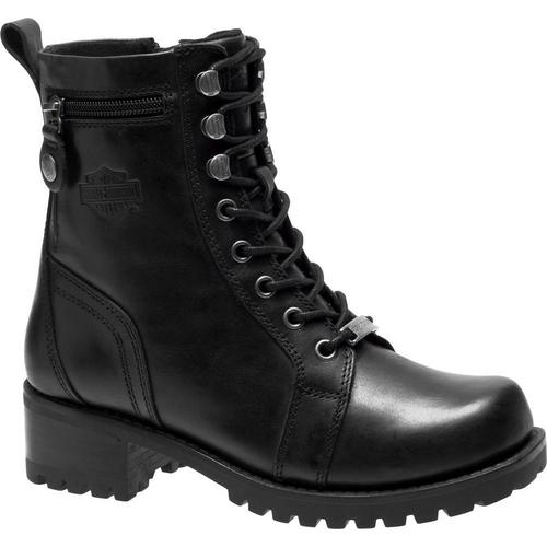 Harley Davidson Ladies Boots Keeler D84330 Black