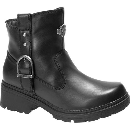 Harley Davidson Ladies Boots Madera D84406 Black