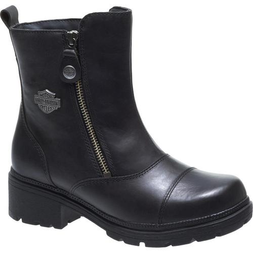 Harley Davidson Ladies Boots Amherst D84236 Black