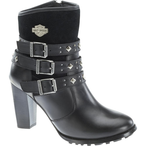 Harley Davidson Ladies Boots Abbey D83865 Black