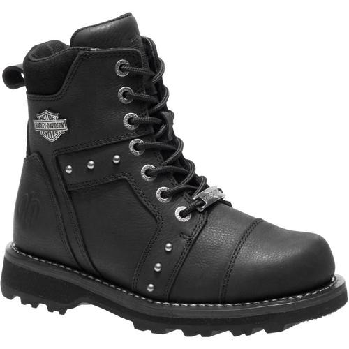 Harley Davidson Ladies Boots Oakleigh D84276 Black