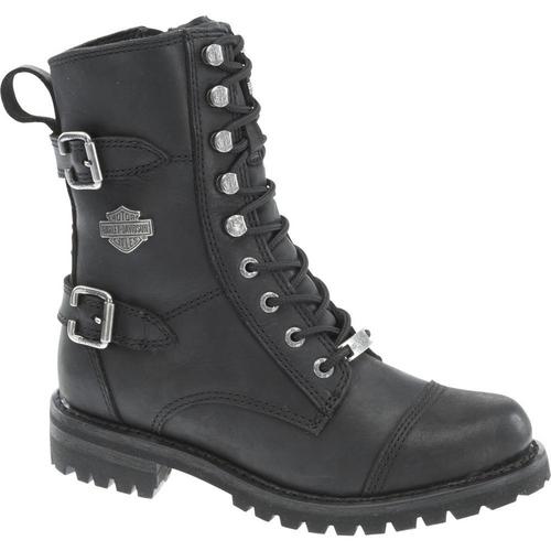 Harley Davidson Ladies Boots Balsa D83853 Black