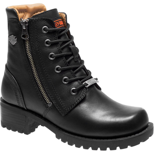 Harley Davidson Ladies Boots Asher D84250 Black
