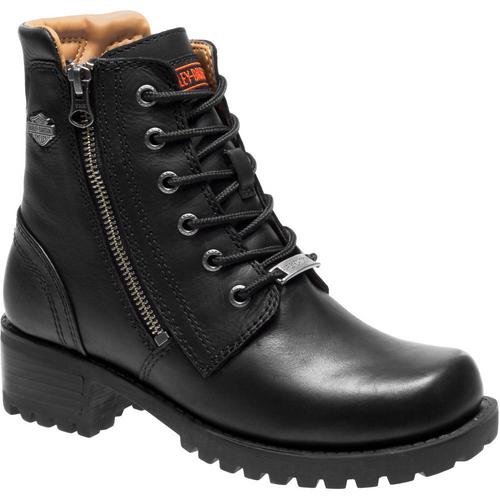 Harley Davidson Ladies Boots Asher D84250 Black