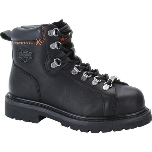 Harley Davidson Ladies Boots Gabby Steel Toe D83668 Black