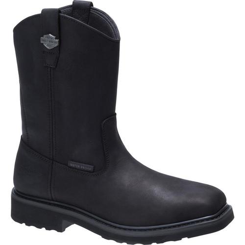 Harley Davidson Mens Boots Altman Composite Toe D93563 Black