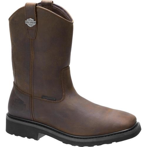 Harley Davidson Mens Boots Altman D93562 Brown