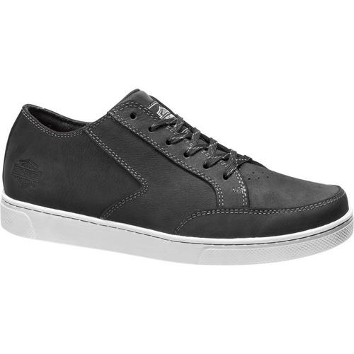 Harley Davidson Mens Shoes Luton D93623 Black