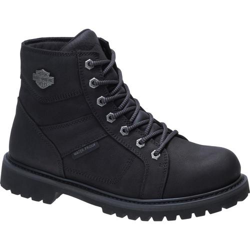 Harley Davidson Mens Boots Lagarto Composite Toe D93579 Black