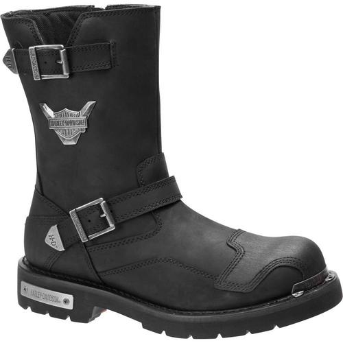 Harley Davidson Mens Boots Stroman D93521 Black