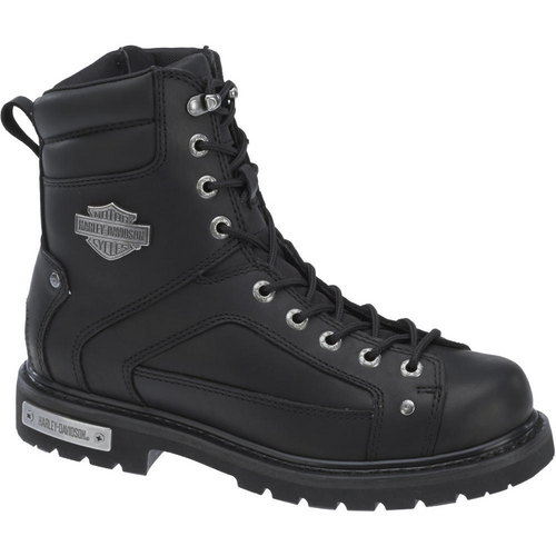 Harley Davidson Mens Boots Abercorn D93340 Black