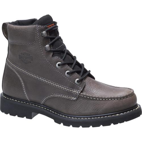 Harley Davidson Mens Boots Markston D93530 Grey