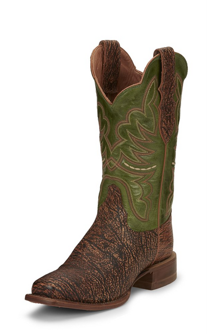 "Justin Ladies Boots L7035 12"" RUMER BENEDICTINE"