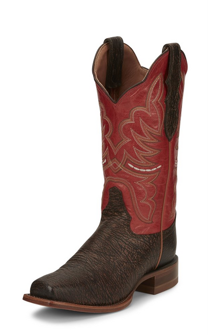 "Justin Ladies Boots L7036 12"" RUMER WALNUT"