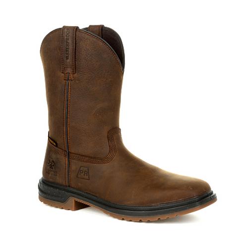 Rocky Mens Worksmart PR Composite Toe Waterproof Western Boot RKW0325 BROWN