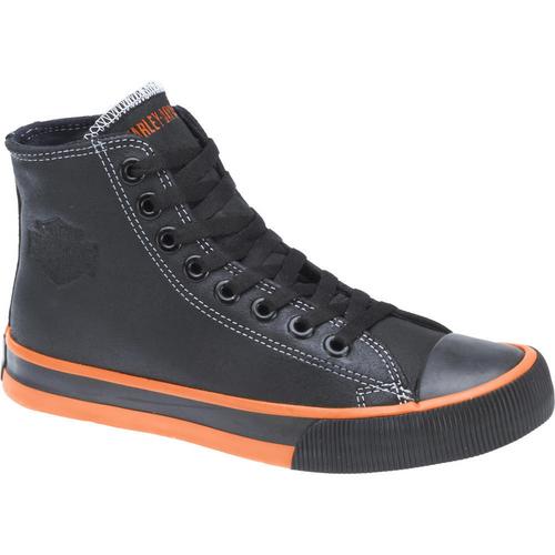 Harley Davidson Mens Footwear Nathan D93816 Black Leather