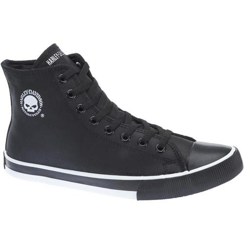 Harley Davidson Mens Footwear Baxter D93341 Black/White