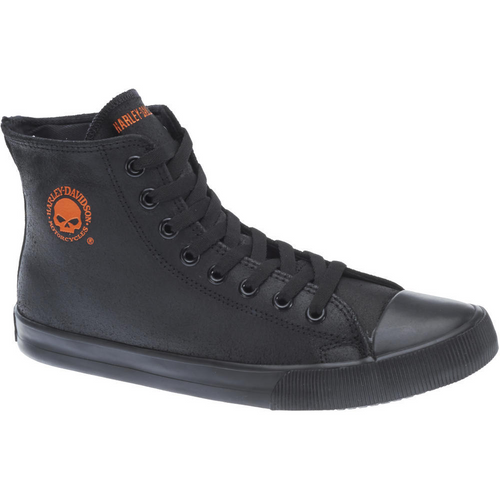 Harley Davidson Mens Footwear Baxter D93343 Black/Orange