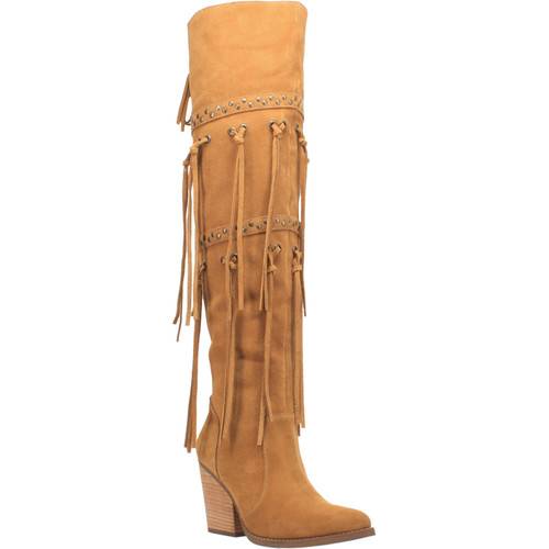 """Dingo Ladies Footwear DI 268 22"""" #WITCHY WOMAN Camel"""