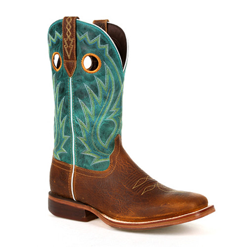 Durango® Mens Arena Pro XRT Golden Brown Western Boot DDB0308 GOLDEN BROWN AND TURQUOISE