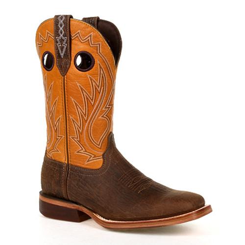Durango® Mens Arena Pro XRT Acorn Western Boot DDB0311 ACORN AND INCA GOLD
