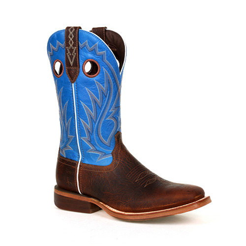 Durango® Mens Arena Pro XRT Brilliant Blue Western Boot DDB0310 BAY BROWN AND BRILLIANT BLUE